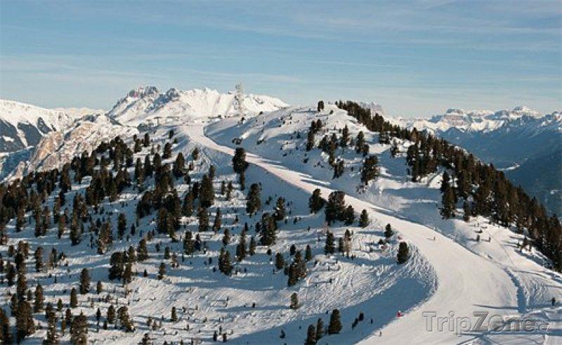 Fotka, Foto Val di Fiemme, ski rezort Alpe Cermis