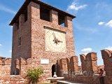Věž v pevnosti Castelvecchio