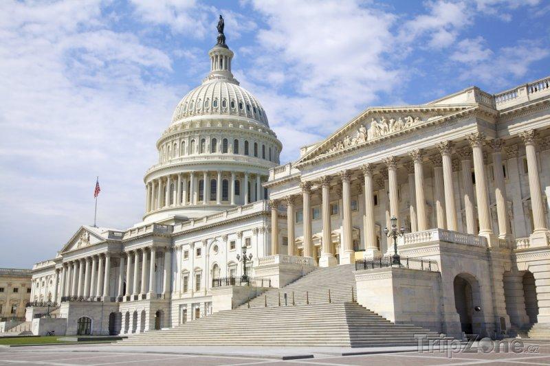 Fotka, Foto Východní fasáda Kapitolu (Washington D.C., USA)