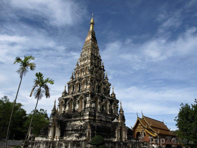 Fotka, Foto Wat Chedi Liam (Chiang Mai, Thajsko)