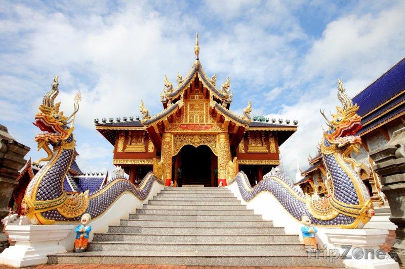 Fotka, Foto Wat Den Sa Lee Si Mueng Gan (Chiang Mai, Thajsko)