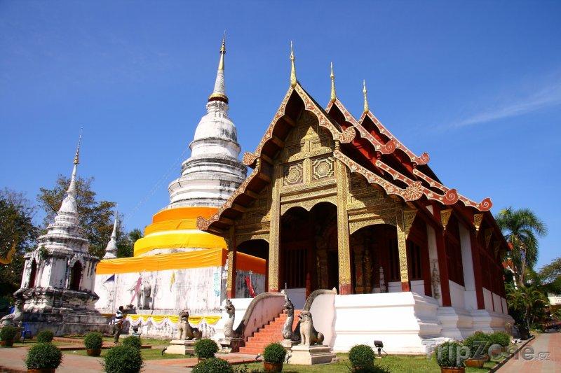 Fotka, Foto Wat Phra Sing (Chiang Mai, Thajsko)