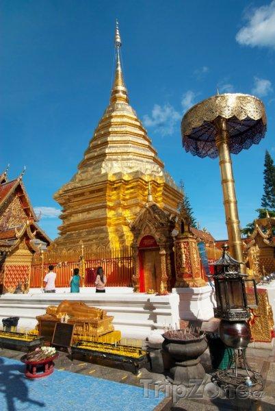 Fotka, Foto Wat Phrathat Doi Suthep (Chiang Mai, Thajsko)
