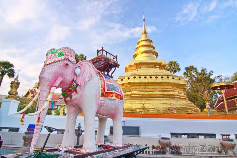 Fotka, Foto Wat Phrathat Sri Jomthong (Chiang Mai, Thajsko)