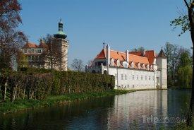 Zámek Pottenbrunn u Sankt Pöltenu