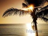 Západ slunce nad Key Biscayne