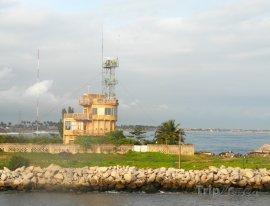 Abidžan, vjezd do přístavu