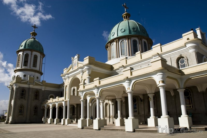 Fotka, Foto Addis Abeba, katedrála Medhane Alem (Etiopie)