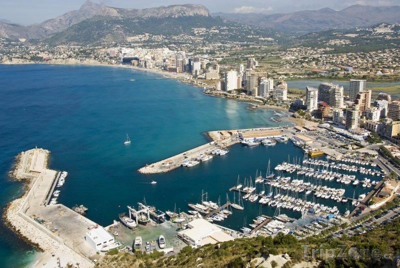 Fotka, Foto Alicante, pohled na přístav (Španělsko)