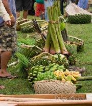 Alofi, ovocný trh