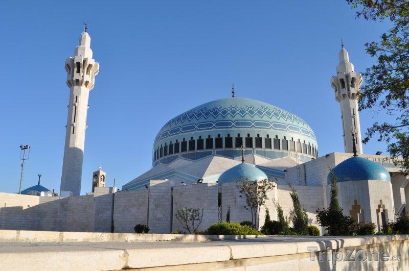 Fotka, Foto Ammán, mešita krále Abdalláha I. (Jordánsko)