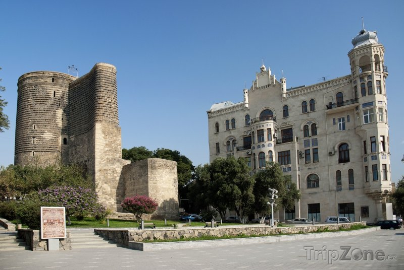 Fotka, Foto Baku, Panenská věž (Ázerbájdžán)