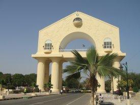 Banjul, vstupní brána Arch 22