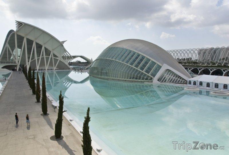 Fotka, Foto Bazén ve Městě umění a věd (Valencie, Španělsko)
