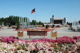 Biškek, náměstí Ala-Too