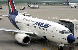 Boeing 737-800 společnosti Malév