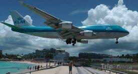 Boeing 747 společnosti KLM