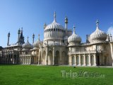 Brighton, palác Royal Pavilion