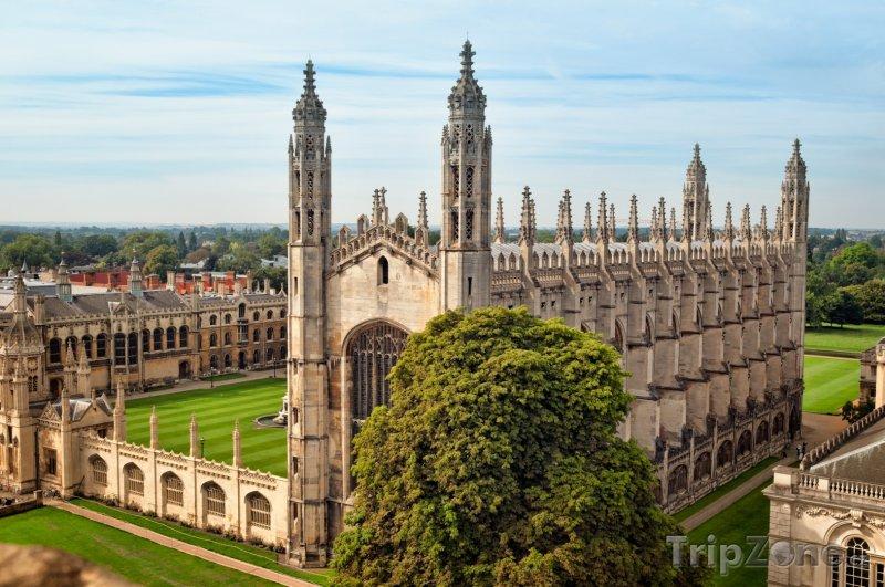Fotka, Foto Cambridge, King`s College (Velká Británie)