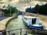 Canal du Midi, od roku 1996 zapsán na seznamu UNESCO
