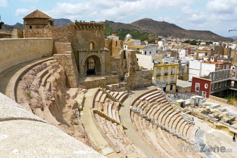 Fotka, Foto Cartagena, římské divadlo Carthago Nova (Španělsko)