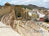 Cartagena, římské divadlo Carthago Nova