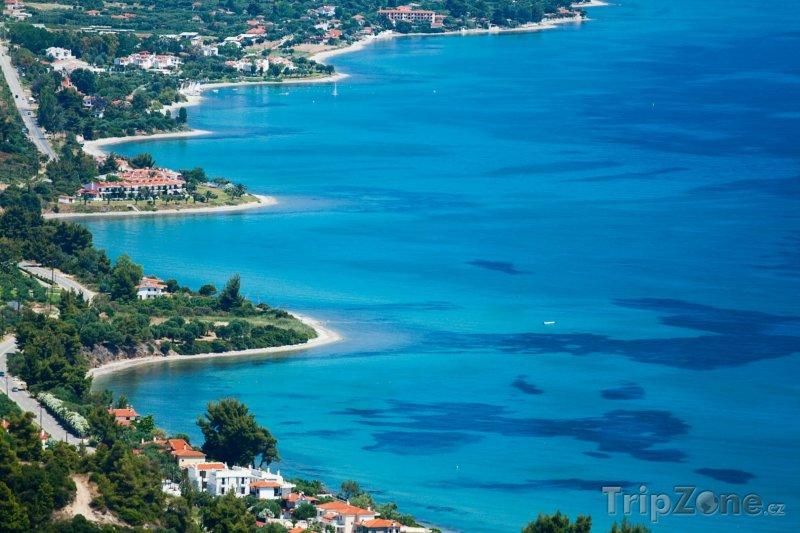 Fotka, Foto Chalkidiki, pobřeží města Kassandra (Řecko)