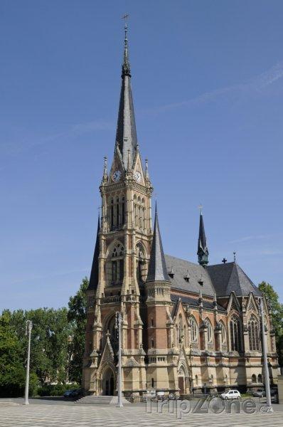 Fotka, Foto Chemnitz, kostel St. Petrikirche (Německo)