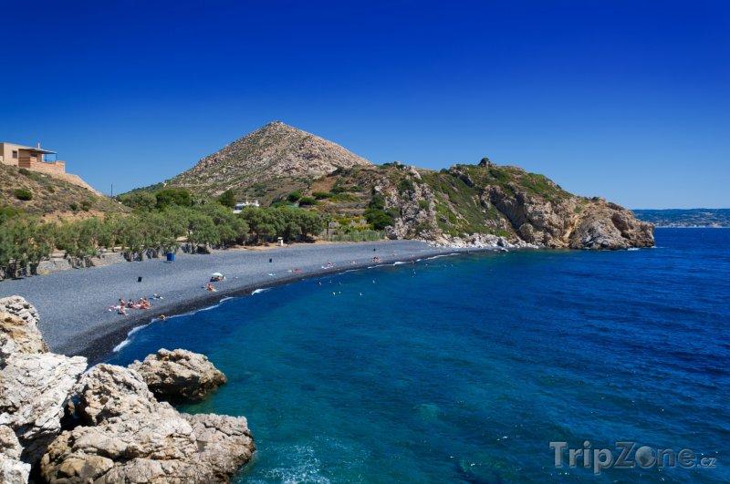 Fotka, Foto Chios, kamenná pláž (Řecko)