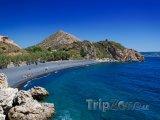 Chios, kamenná pláž