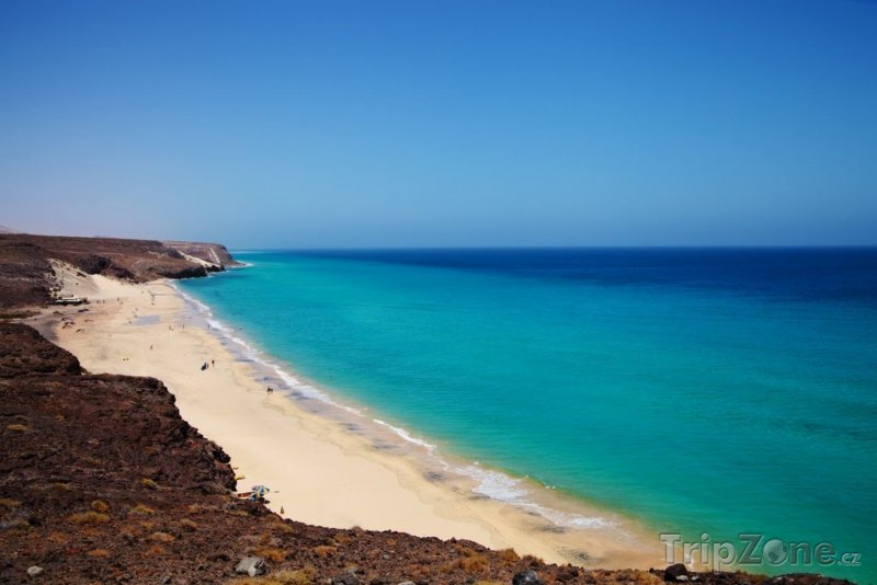 Fotka, Foto Costa Calma, famózní pláž Playa Barca (Španělsko)