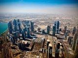 Dauhá, pohled na město z mrakodrapu