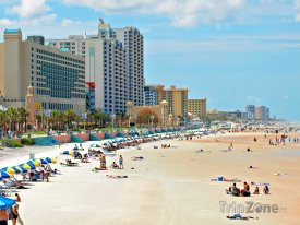 Daytona Beach, pláž