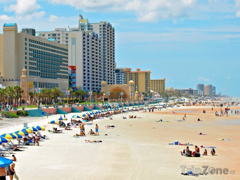 Fotka, Foto Daytona Beach, pláž (USA)