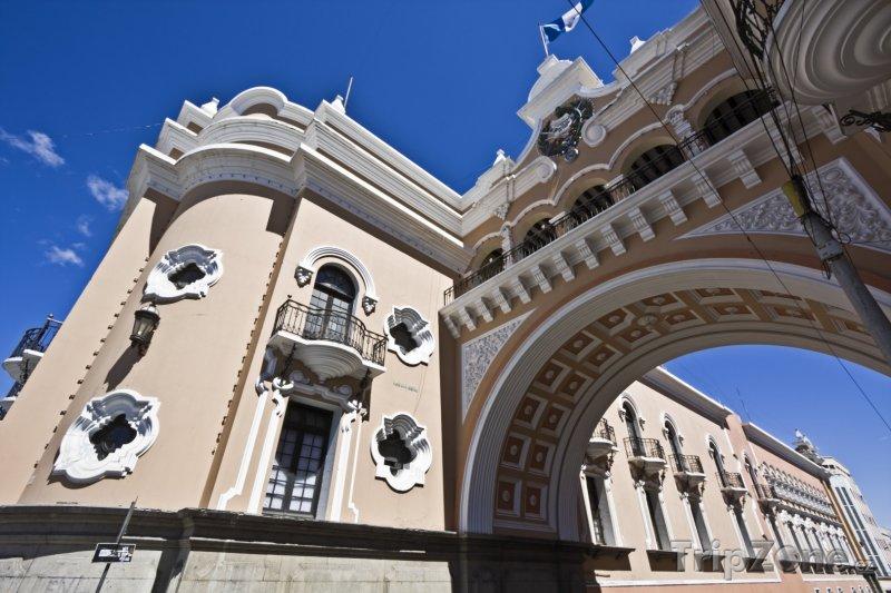 Fotka, Foto Guatemala, budova Národní pošty (Guatemala)