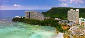 Hagåtña, hotelové rezorty na pobřeží
