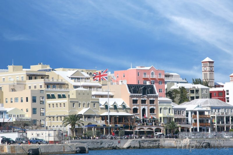 Fotka, Foto Hamilton, centrum města (Bermudy)