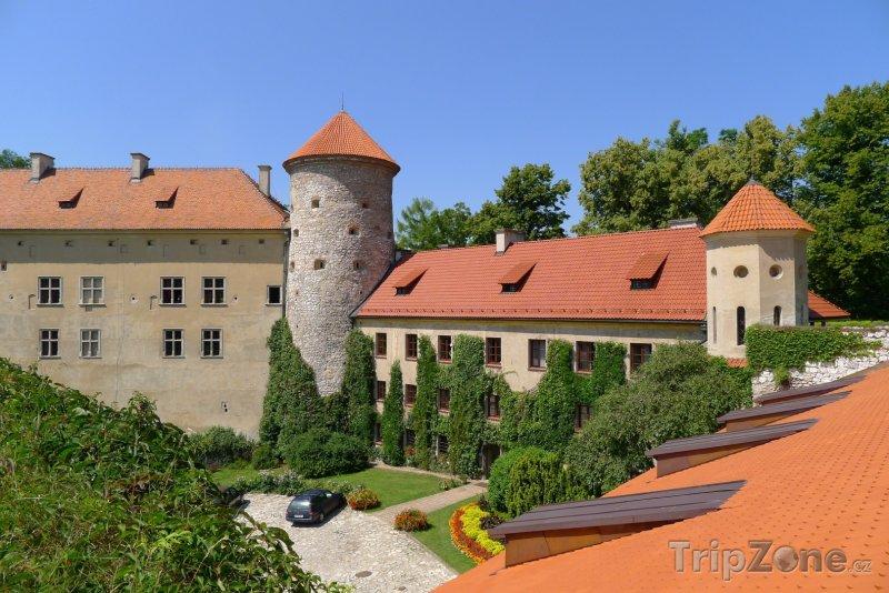 Fotka, Foto Hrad Pieskowa Skała (Krakov, Polsko)