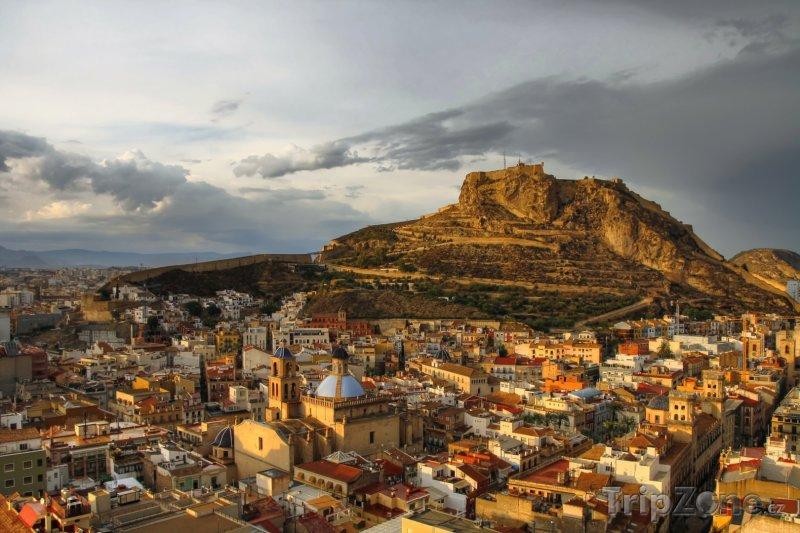 Fotka, Foto Hrad Santa Barbara nad Alicante (Španělsko)