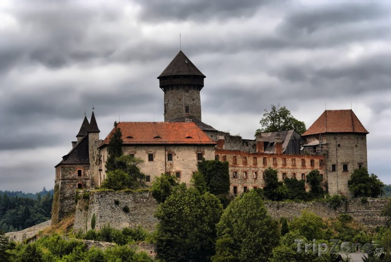 Fotka, Foto Hrad Sovinec (Česká republika)