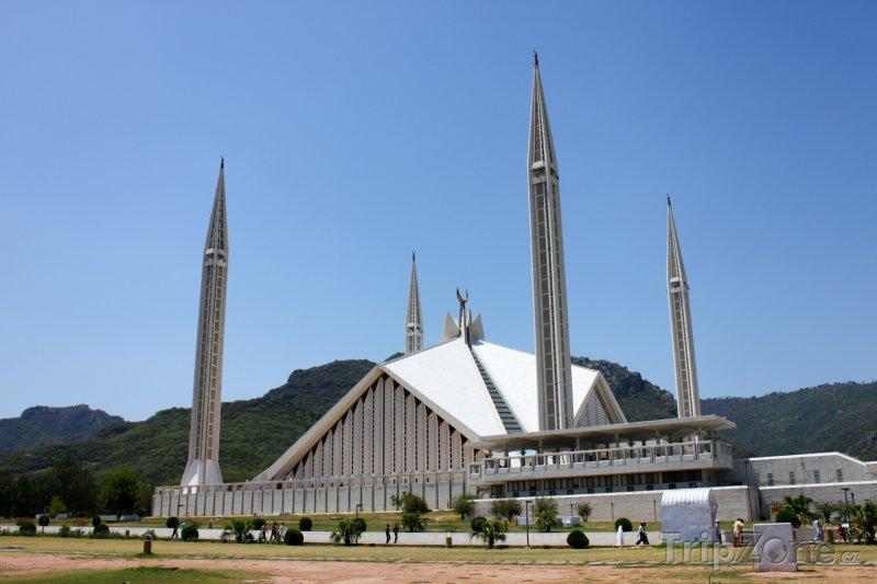 Fotka, Foto Islámábád, mešita Šáha Faisala Masjida (Pákistán)