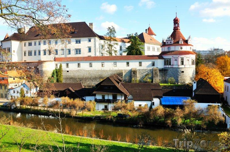 Fotka, Foto Jindřichův Hradec, zámek (Česká republika)