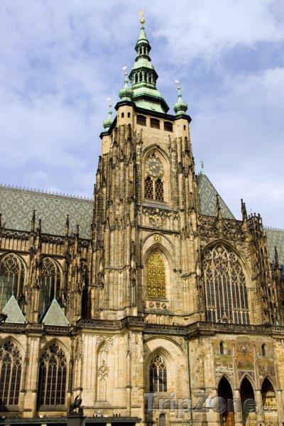 Fotka, Foto Katedrála svatého Víta na Pražském hardě (Praha, Česká republika)