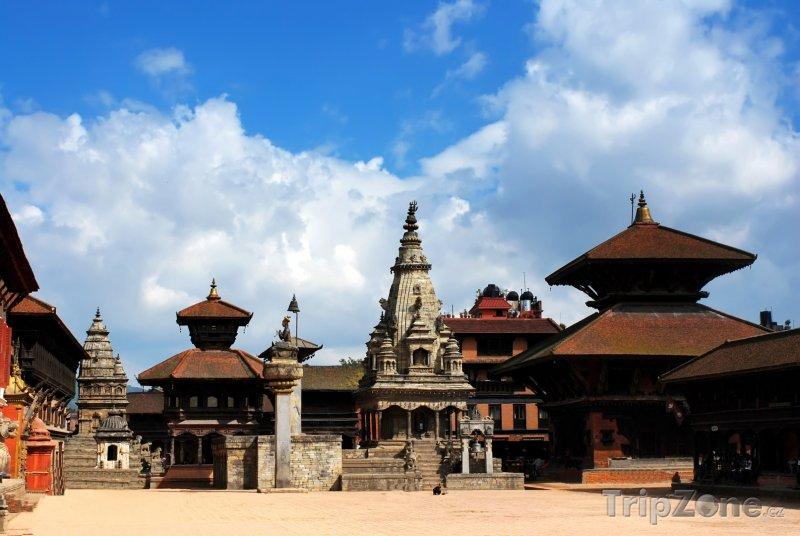 Fotka, Foto Káthmándú, náměstí Durbar (Nepál)