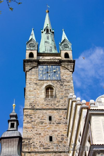 Fotka, Foto Klatovy, Černá věž u radnice (Česká republika)