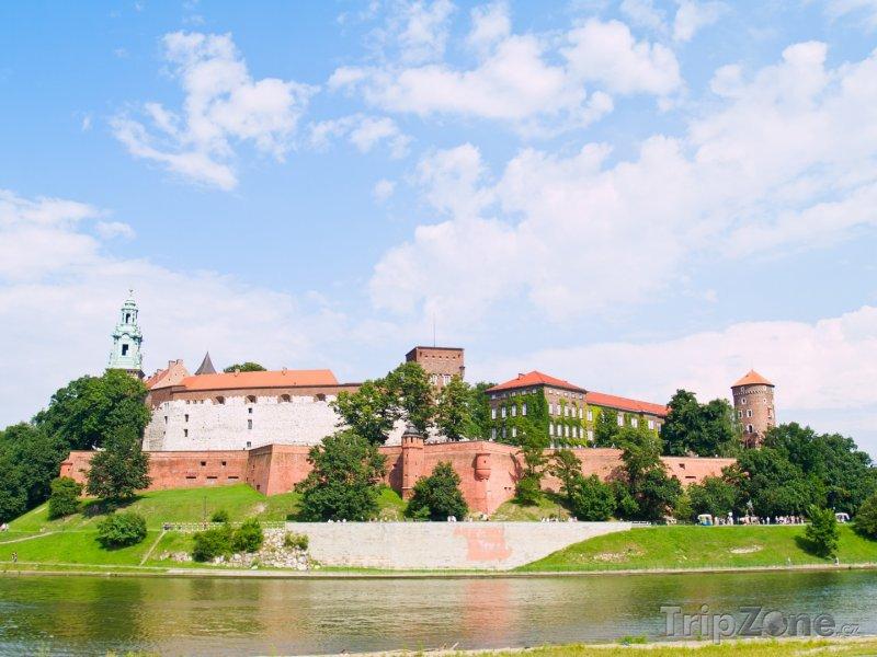 Fotka, Foto Královský hrad Wawel (Krakov, Polsko)