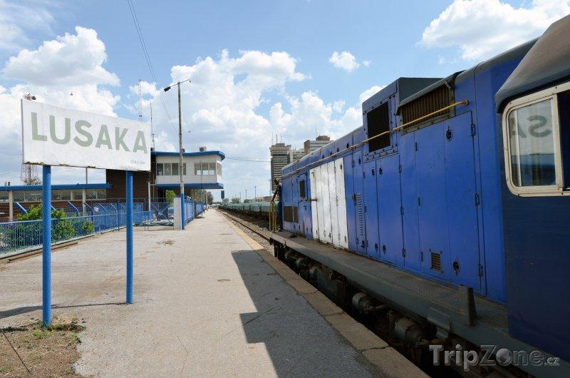 Fotka, Foto Lusaka, železniční stanice (Zambie)