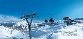 Lyžařské středisko Nassfeld, moderní lanovka