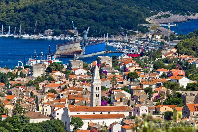 Fotka, Foto Mali Lošinj panorama (Chorvatsko)