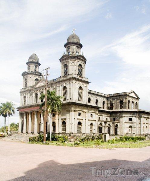 Fotka, Foto Managua, katedrála (Nikaragua)